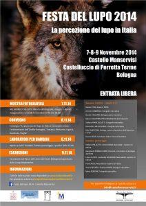 Programma festa del lupo 2014