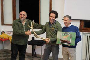 Consegna della Stanga d'oro a Stefano Franceschetti
