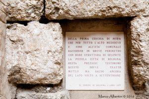 Selenite Mura di Bologna - Foto di Marco Albertini